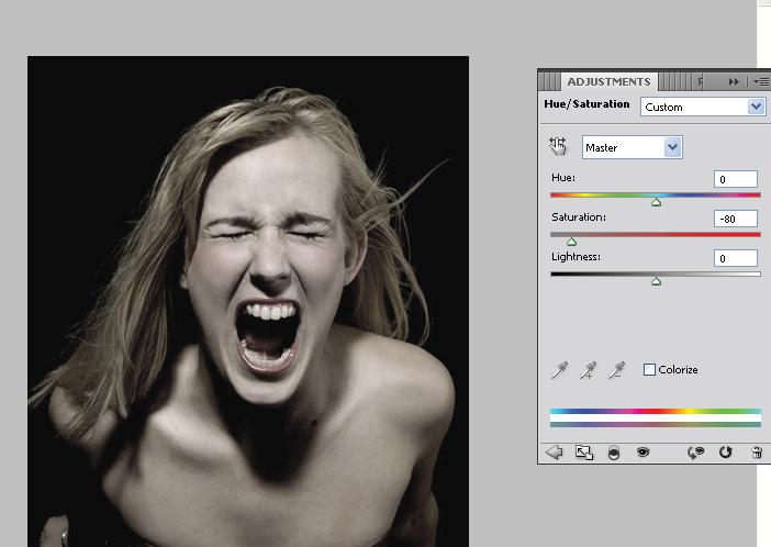 Manipulasi Foto Wajah Seram di Photoshop – PADIStudio